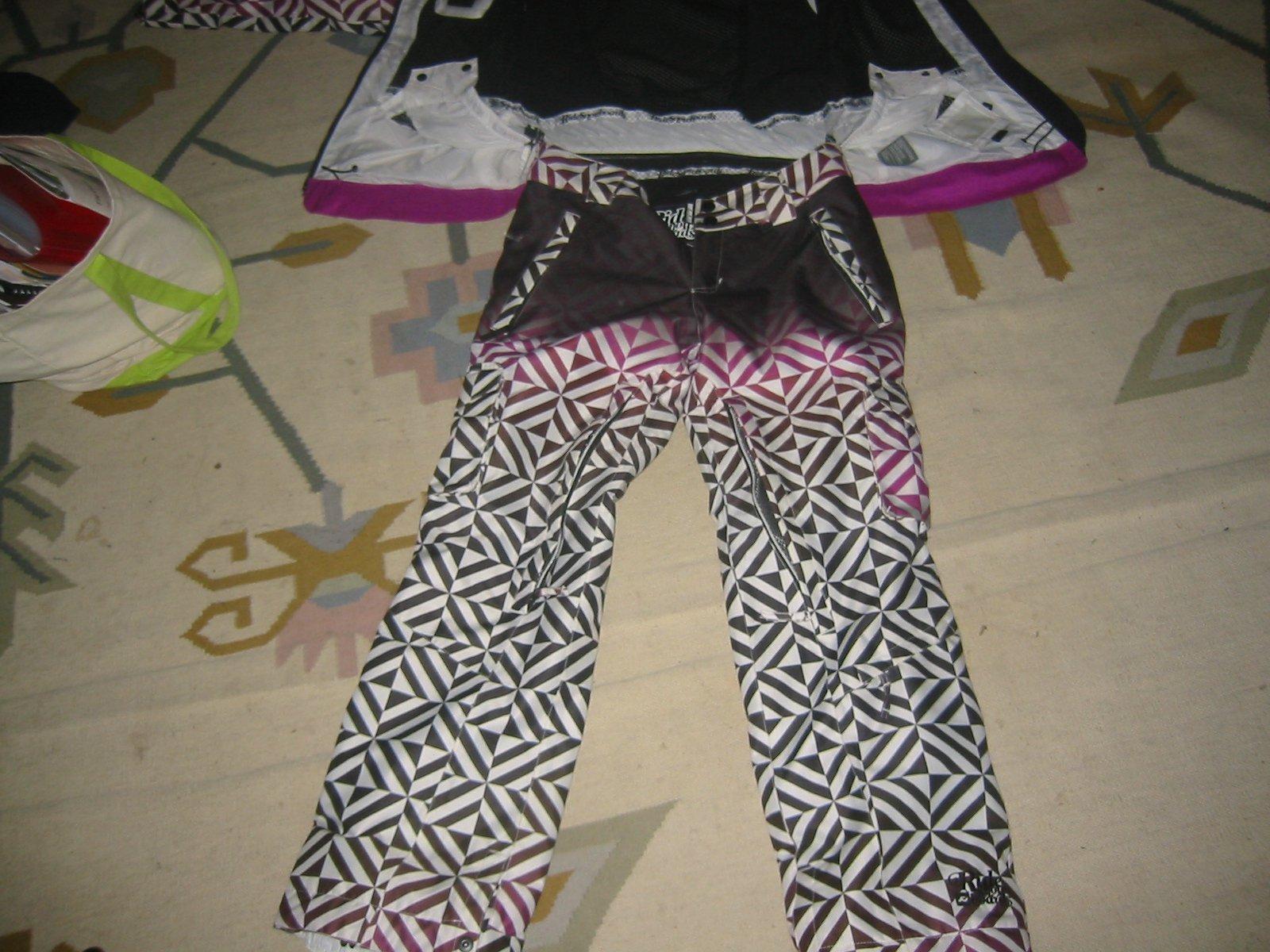 Women's violet pant M