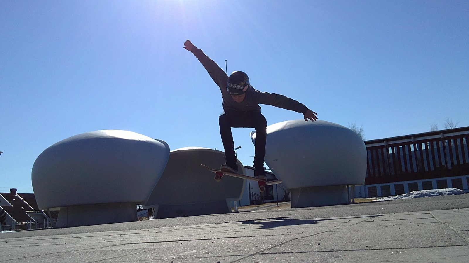 Spring skating