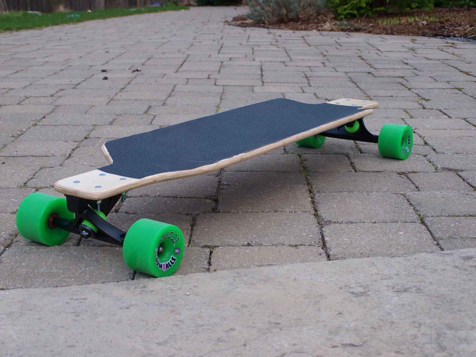 Homemade longboard