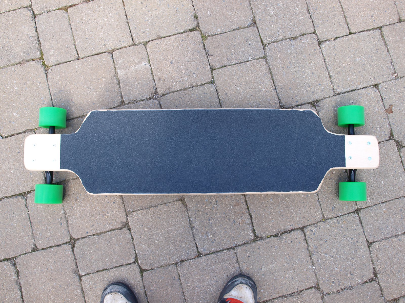Homemade longboard