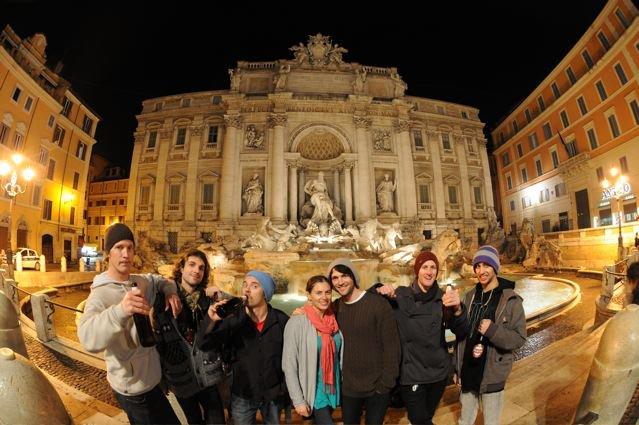 Nimbus Crew in Rome