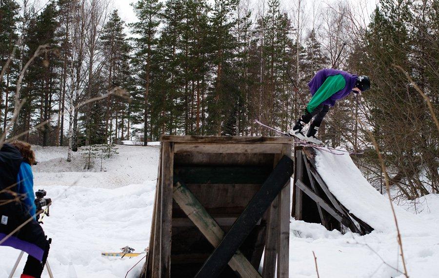Dirt jump stall
