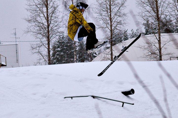 Sw5 with one ski