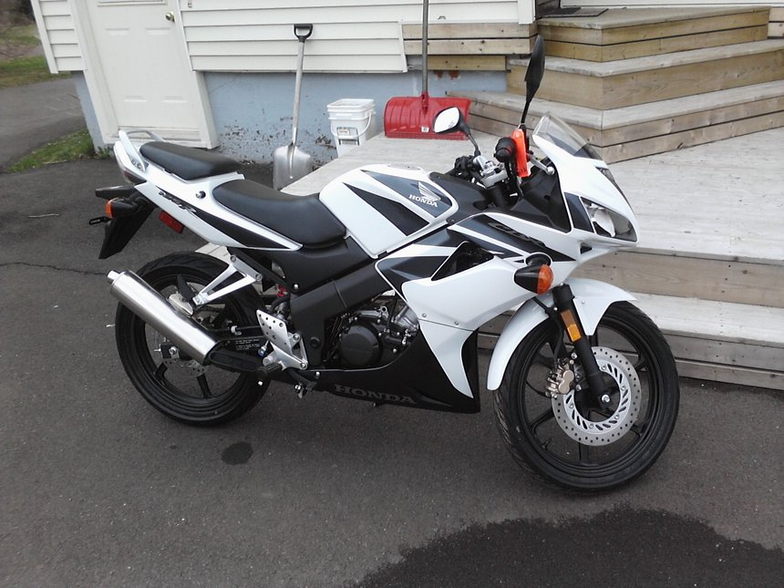 My New 2008 Honda CBR