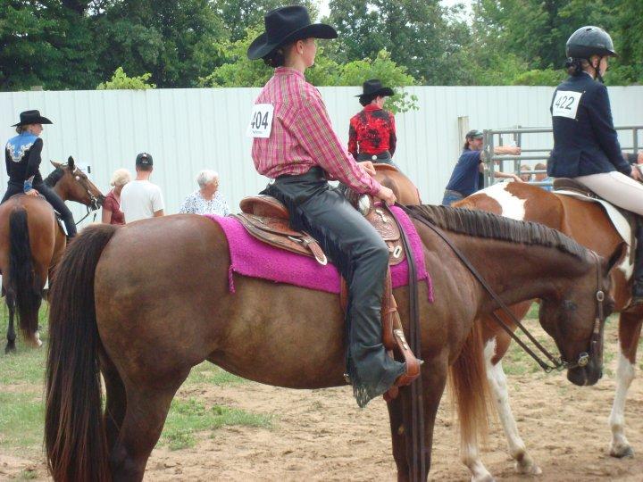 Me n m horseyy! 2009 fair