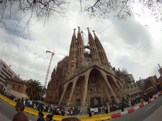 Sagrada Familia GoPro