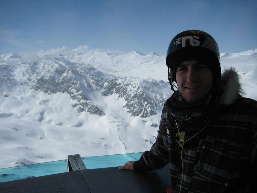 Mountain Start, high altitude bar in Otztal, Austria