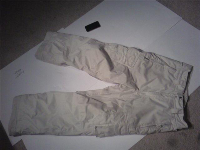 White HH pants size M