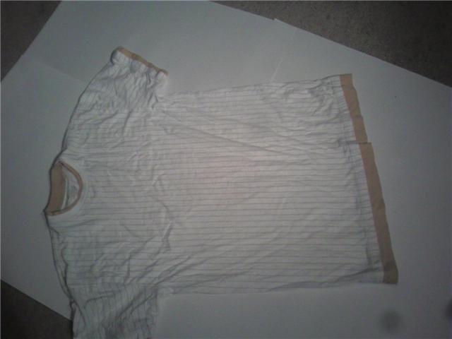 """Size L.. 31"""" tall pin stripe"""