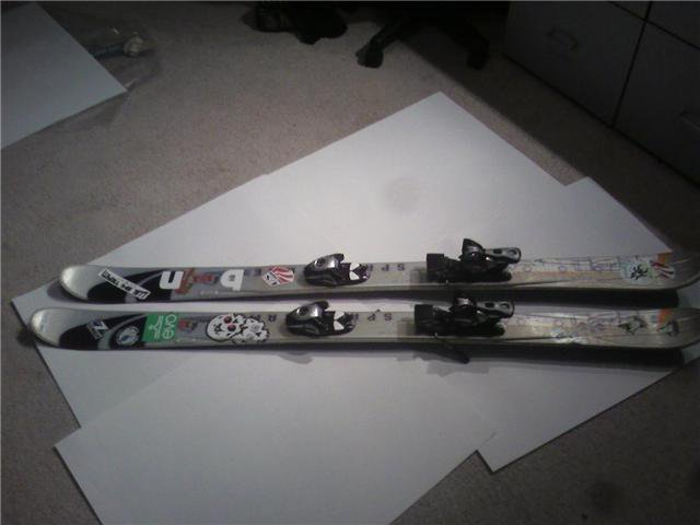151cm salo skis