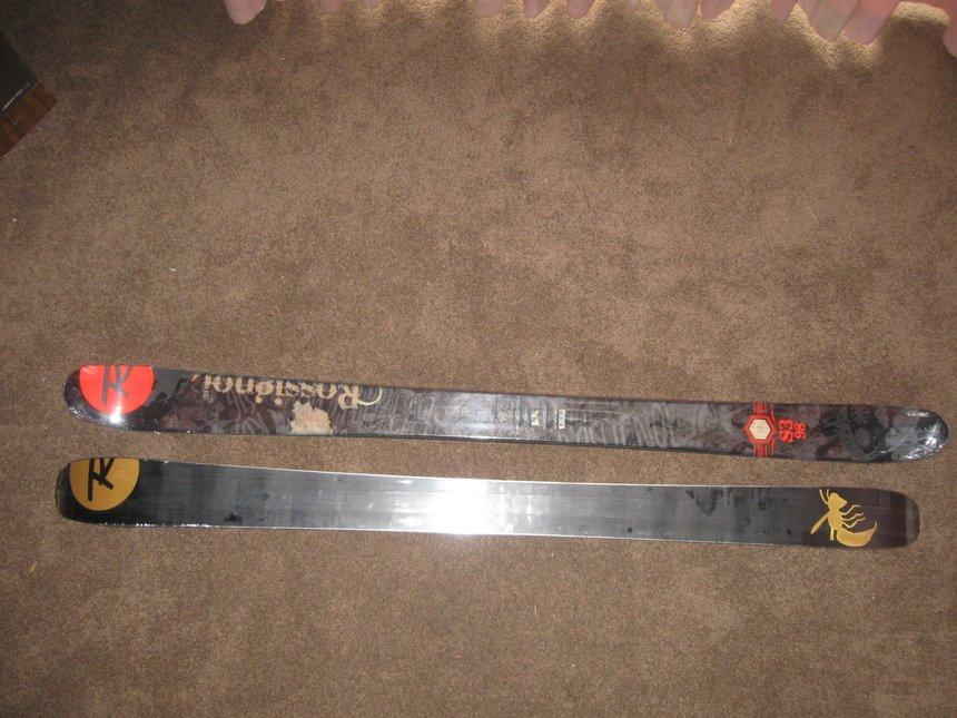2010-2011 Rossignol S3's w/2010-2011 bindings