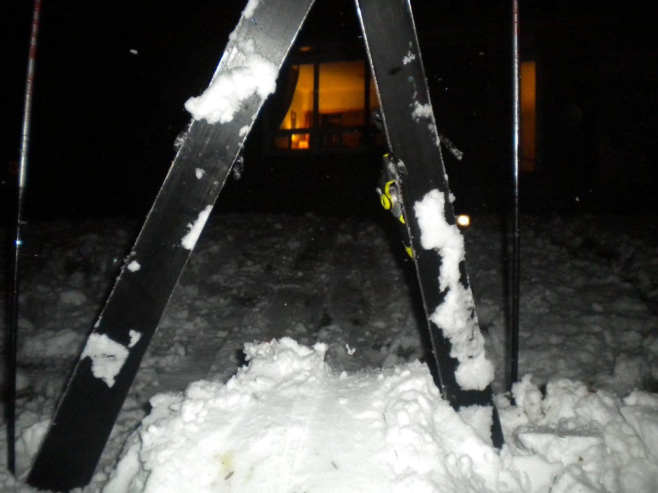 Backyard Skiing on April 18th - 1 of 27