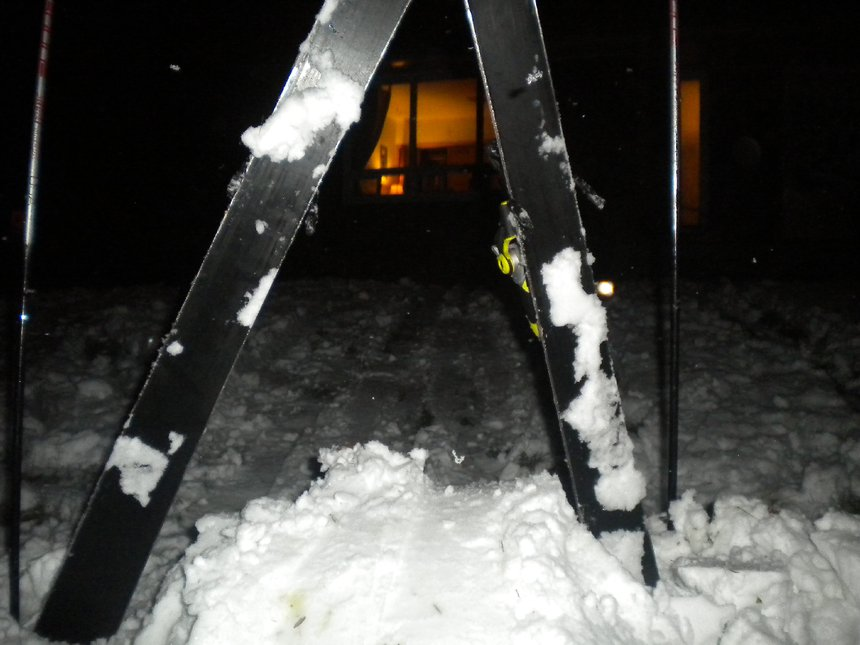 Backyard Skiing on April 18th - 1 of 27