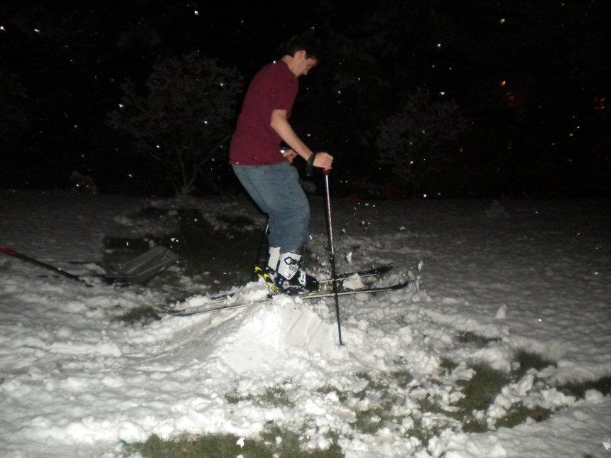 Backyard Skiing on April 18th - 11 of 27
