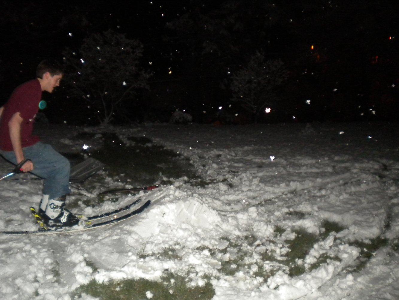 Backyard Skiing on April 18th - 15 of 27