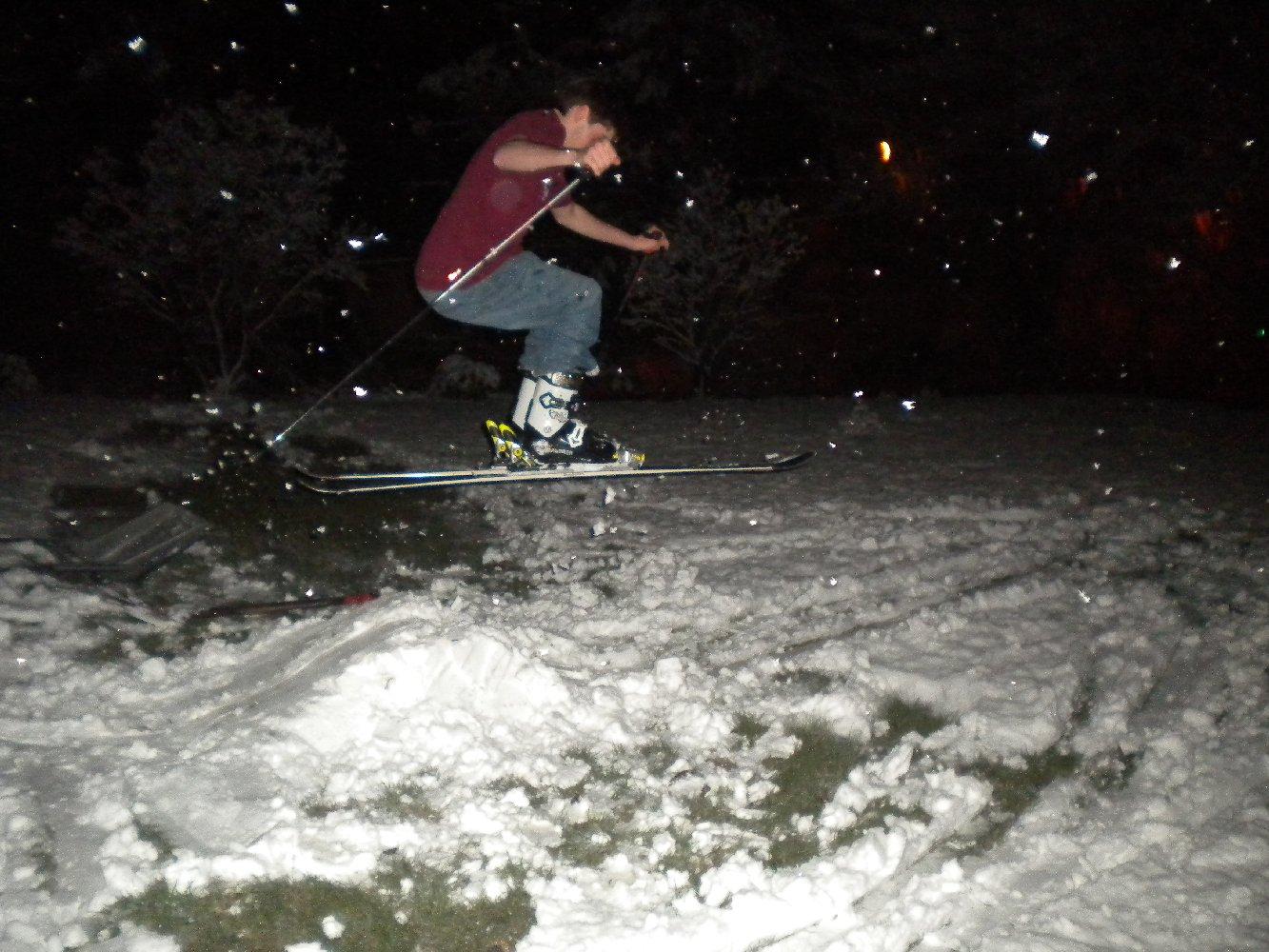 Backyard Skiing on April 18th - 16 of 27