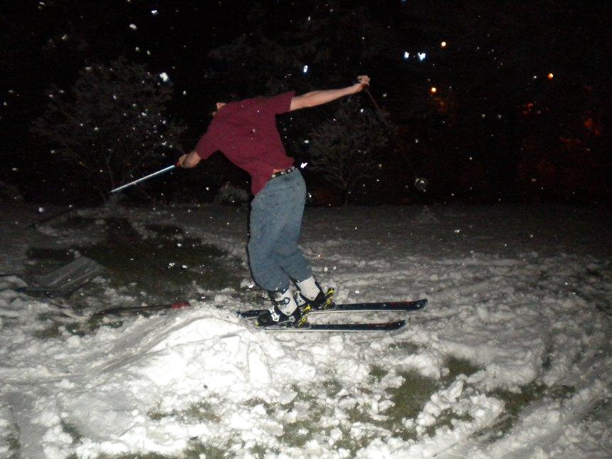 Backyard Skiing on April 18th - 17 of 27