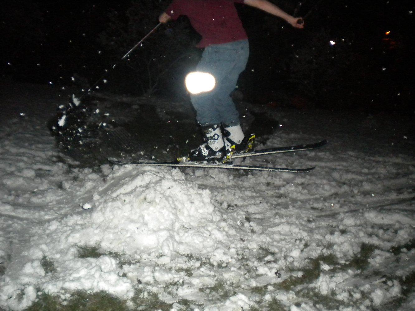 Backyard Skiing on April 18th - 22 of 27