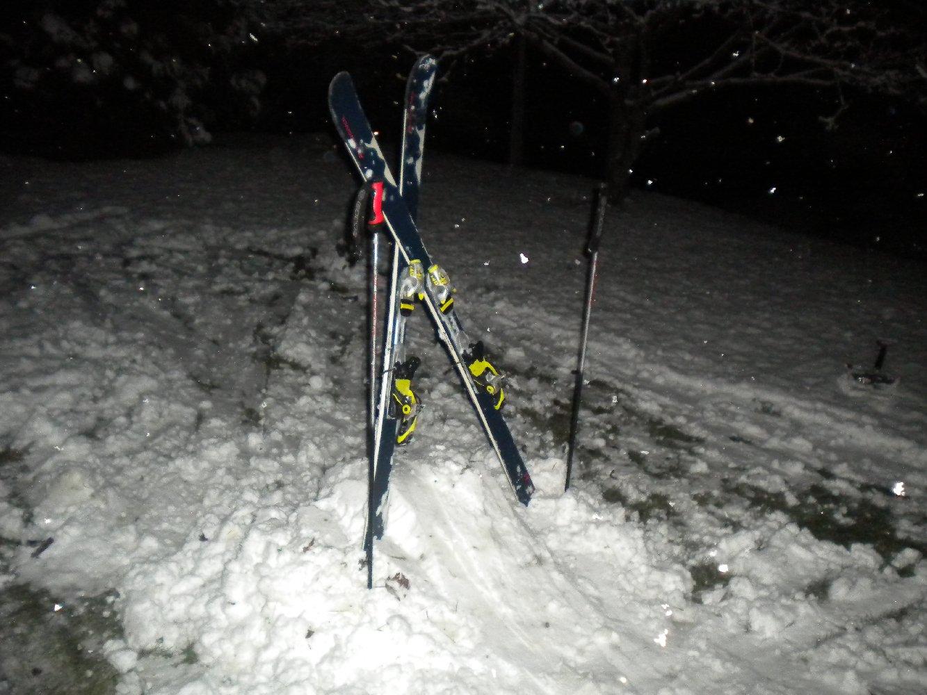Backyard Skiing on April 18th - 26 of 27