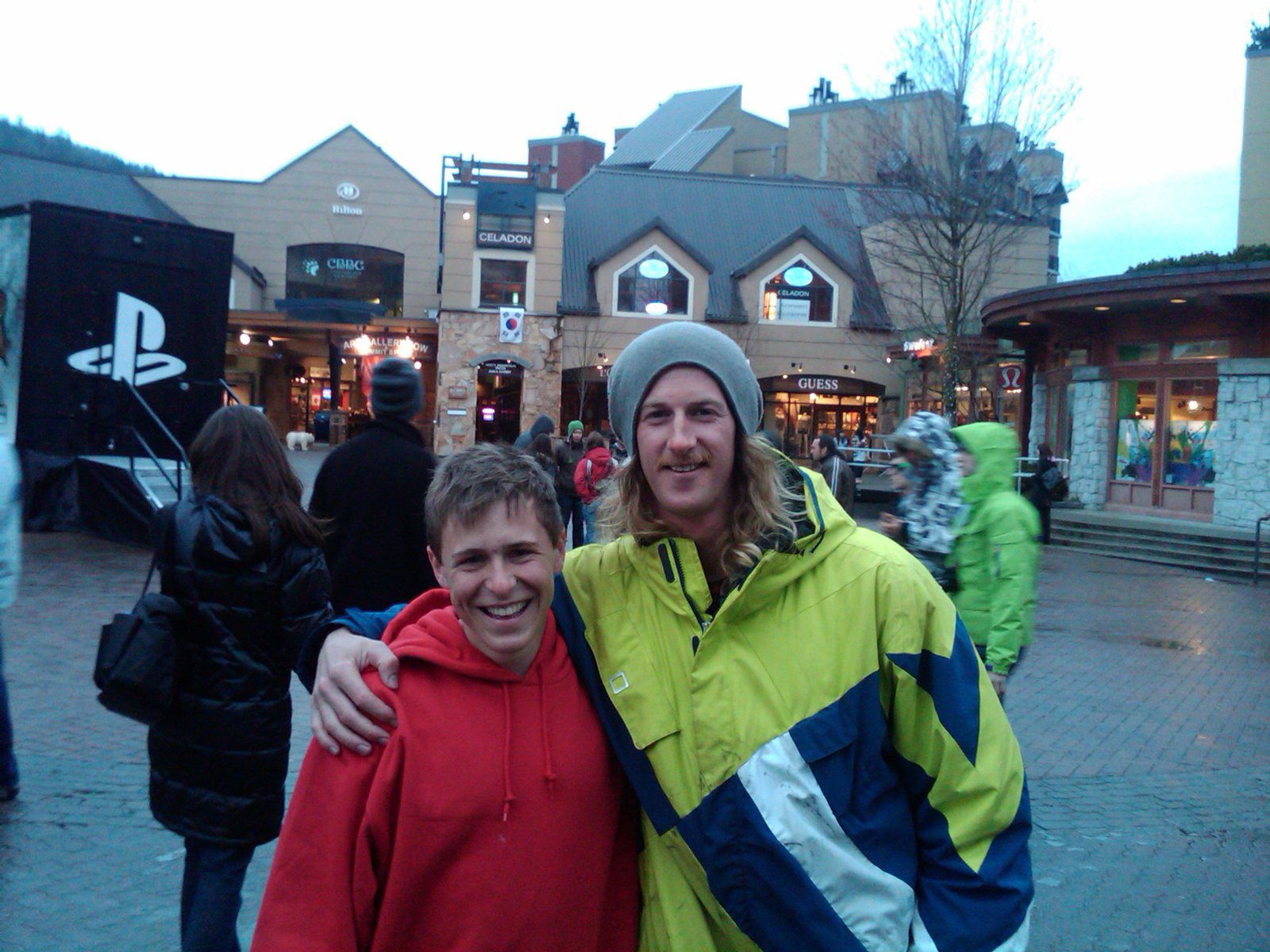 Me and Josh Bibby
