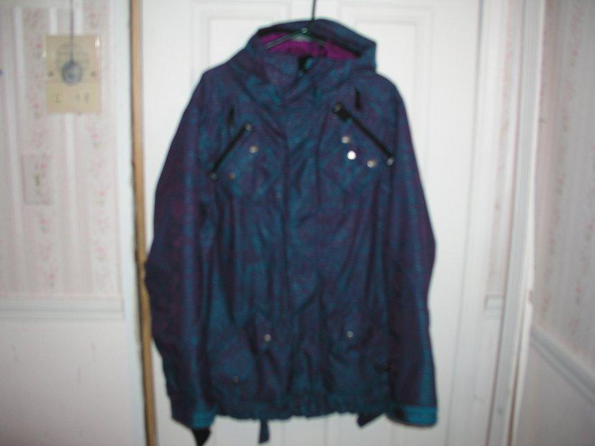 Air Raid Jacket Blue/Purp
