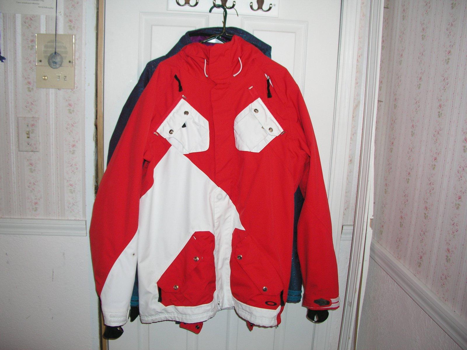 Air Raid Jacket Red/White