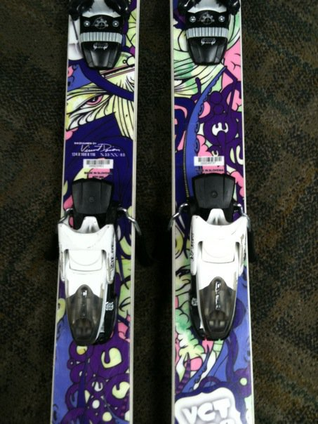 Rear bindings