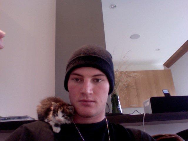 Cat i rescued