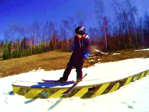 Last day of ski...