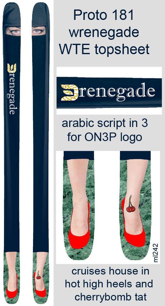 Burka Babe Wrenegade