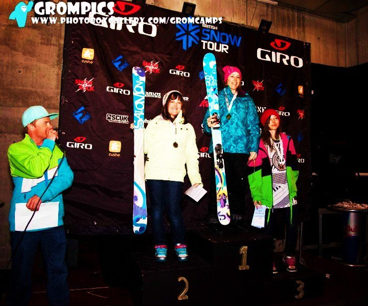 3rd in laax