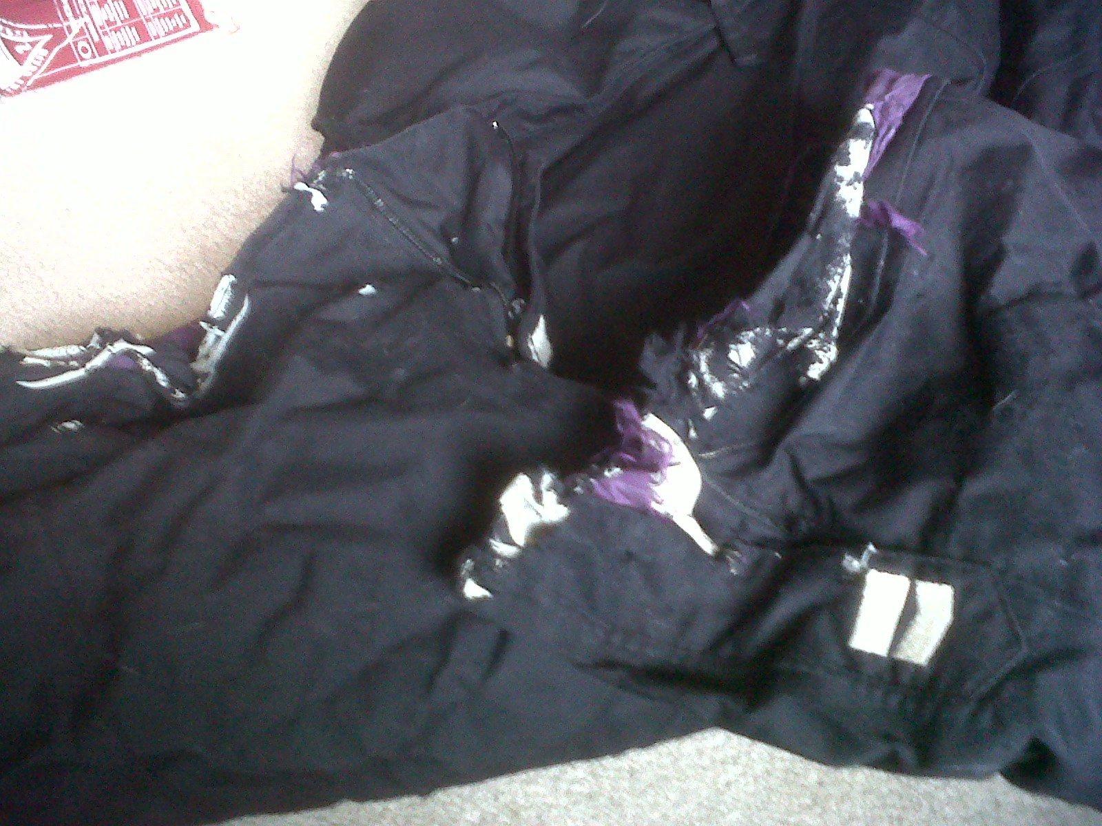 Bottoms of armada pants