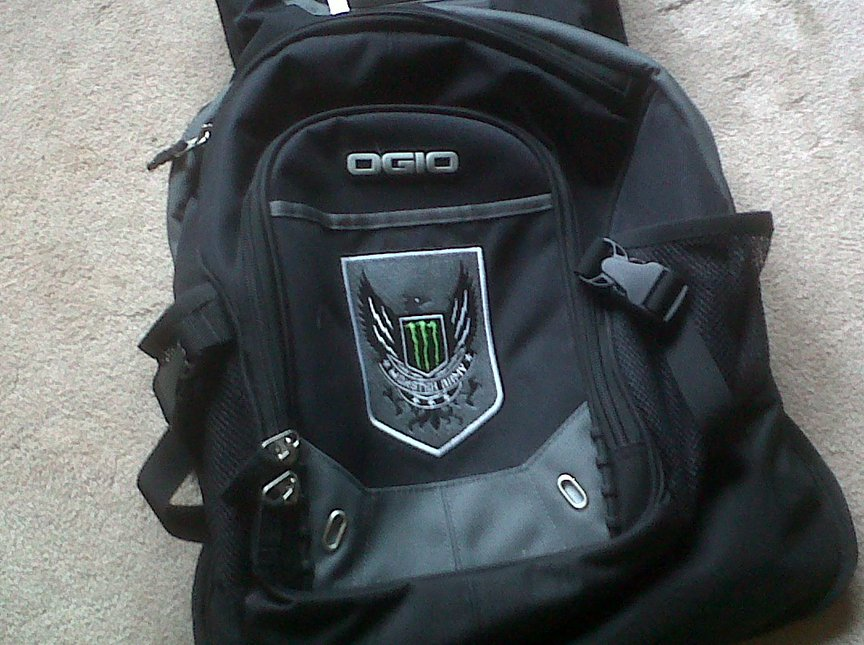 Monster ogio backpack for sale, check thread