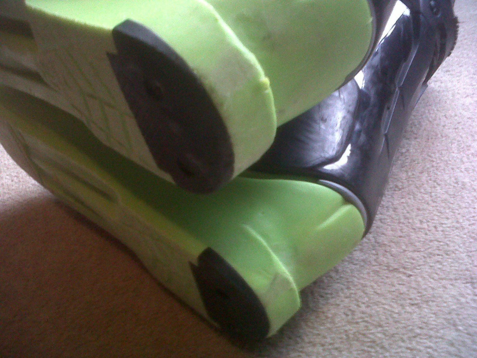 Bottom backs of dalbello boots