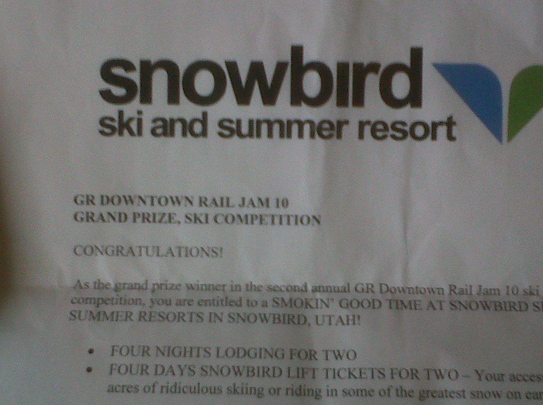 Snowbird ski trip for sale, check thread