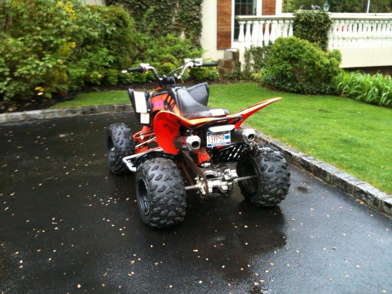 Back raptor 250