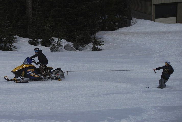Private rope tow, after stevens is closed
