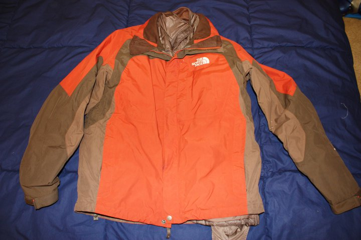 North Face w/ liner - M