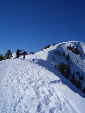 A little Jupiter Peak action in Utah