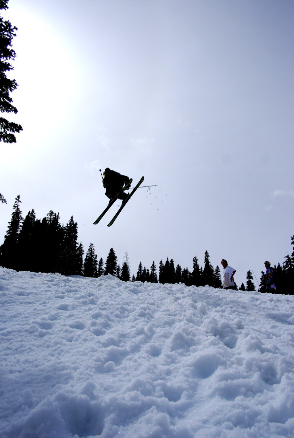 Stevens pass post season jump