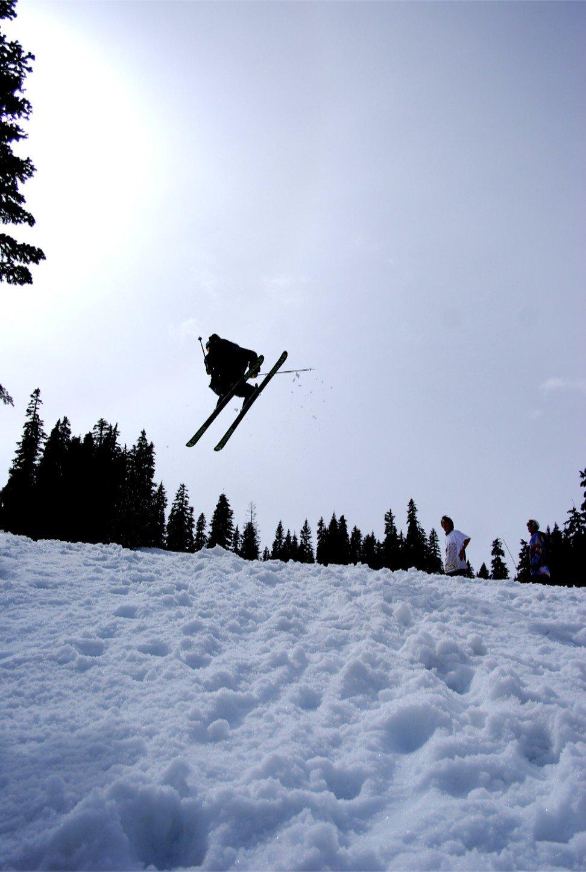 Stevens pass post season jump