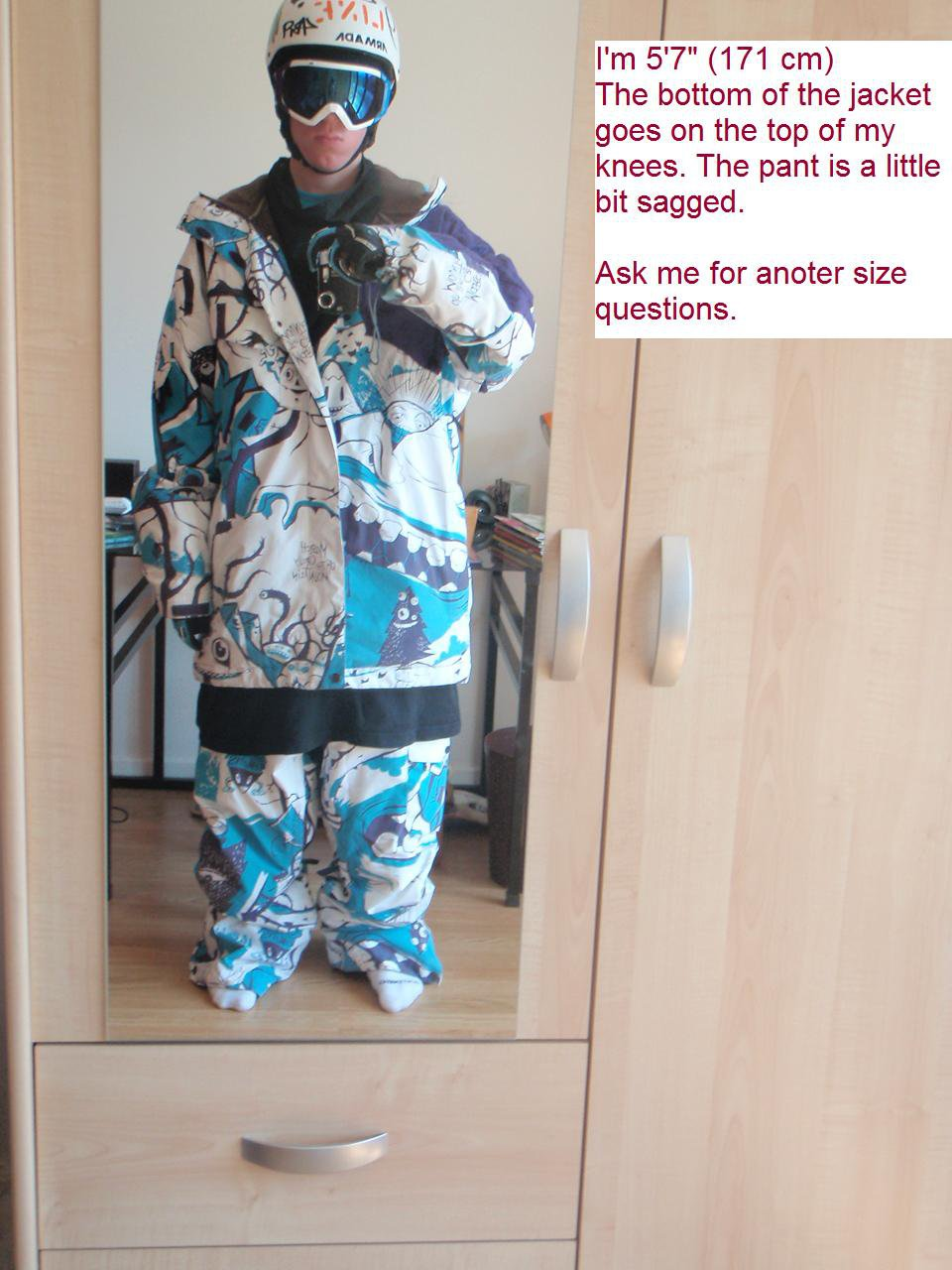 Magic Jacket : Front