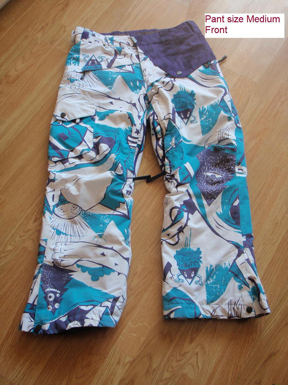 Front of the pant