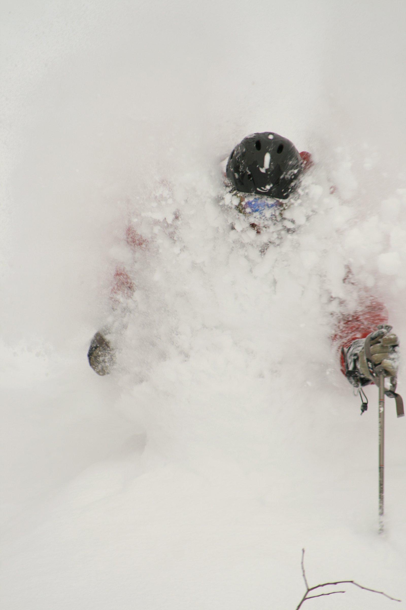 Face Shots at Jackson Hole