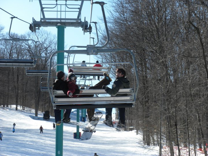 Chairlift Crazy