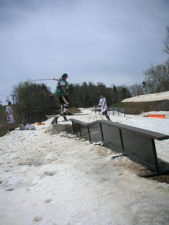 Mt Snow May 2 Transfer rail
