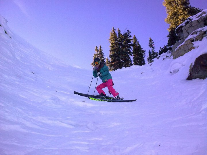 Only steep stuff we found in Aspen