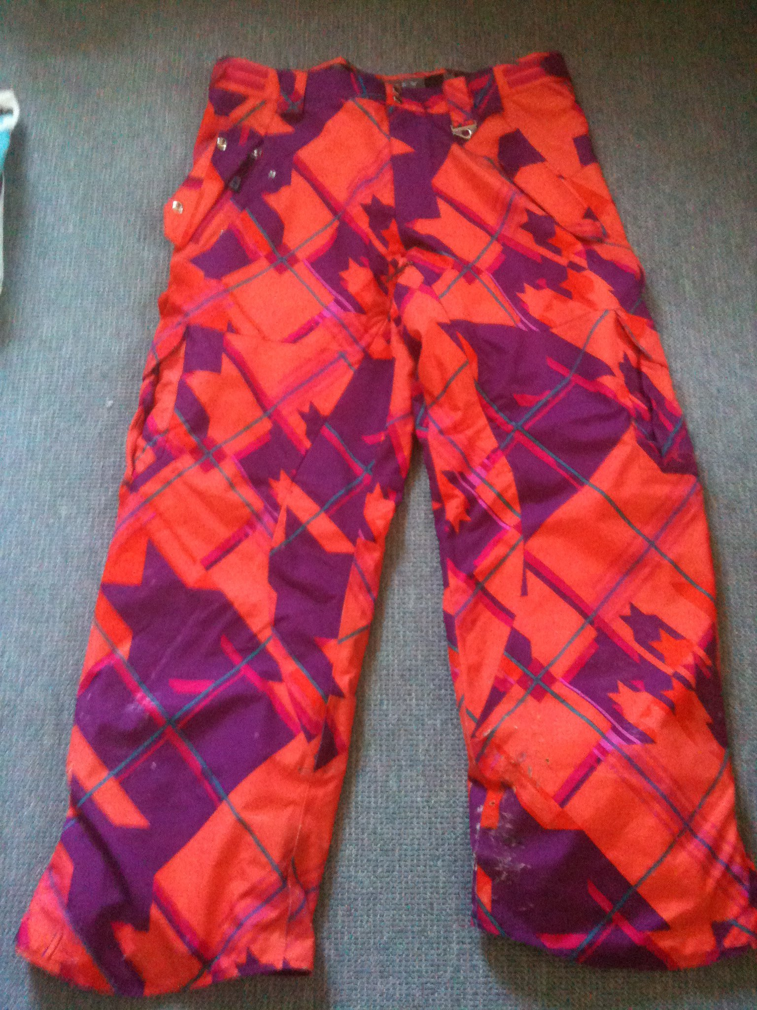 FS: Oakley Loubet Pants orange-PM ME