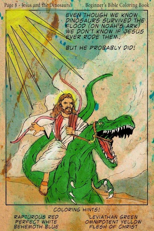 Raptor jesus & jesus