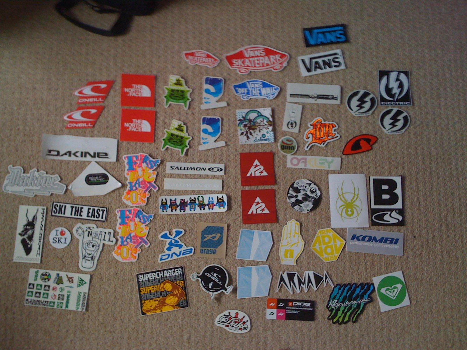 Little stickers
